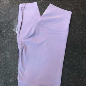 "lululemon athletica Pants - NWOT Lululemon Align Pant 25"" Graphite Grape Sz 6"